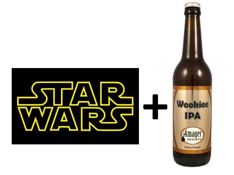 STAR WARS + AMAGER WOOKIEE IPA = Perfekt kombination